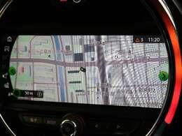●MINI純正ナビ:高級感のある車内を演出させるナビです!