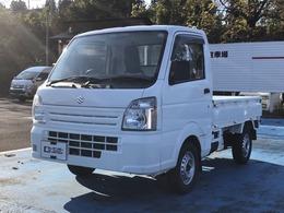 スズキ キャリイ 660 KCエアコン・パワステ 3方開 4WD エアコン パワステ