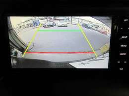 ナビレディパッケージのバックカメラ映像です。夜や雨の日の駐車も安心ですね☆