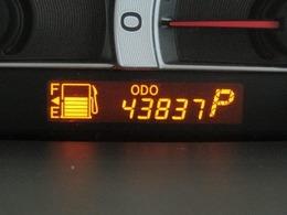 走行距離はおよそ44,000kmです。