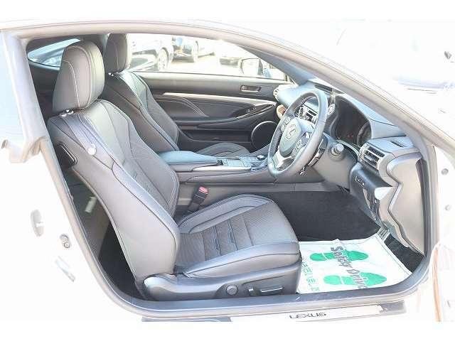 前席エアシート(温&冷) パワーシート 運転席シートメモリー付き