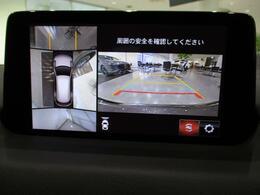 360度ビューモニター搭載車です。障害物に近づくと音でも危険をお知らせ!車体の大きさをカバーしてくれます。