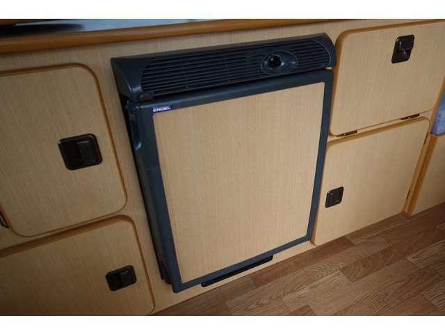 エンゲル製冷蔵庫も装備してます☆