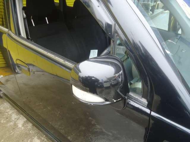 スタイリッシュで安全面でも視認性が良いミラーウィンカー付です。
