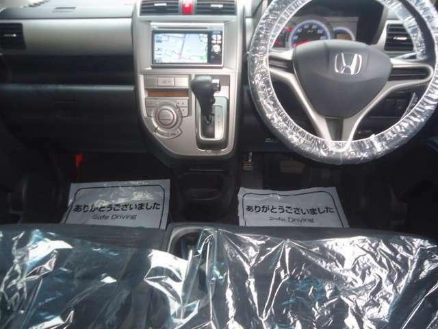 もしもの時にもエアバッグが装着されていますので安心です。あわせてシートベルトもお願いしますね