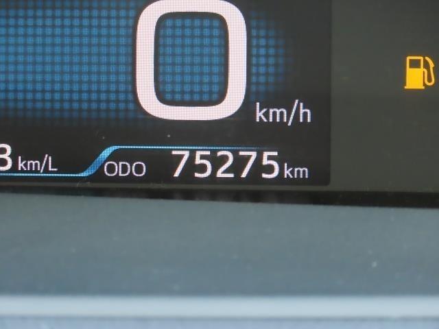 走行距離は写真撮影時で75,275キロです。