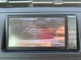 バックカメラ、ガイドライン付きで安心駐車が可能♪