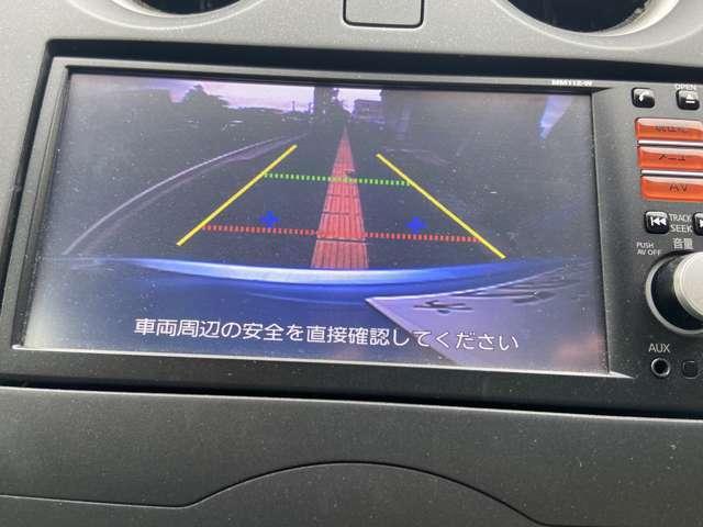 駐車時に便利なバックカメラ☆