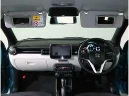 視界も広く、初心者の方でも運転しやすいです!