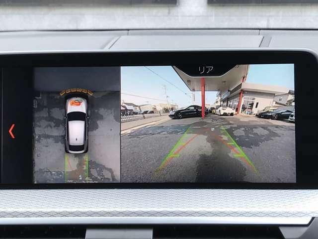 360°全周囲カメラも装備されております。