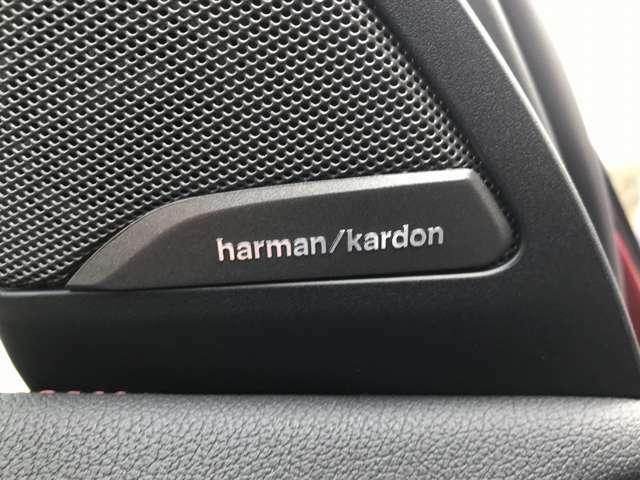 harman/kardonサラウンド・サウンド・パッケージ が装着されております。