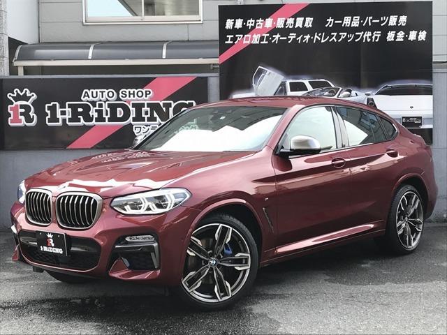 BMW X4 ガソリンモデルの フラッグシップ  X4 M40i が入庫致しました!!