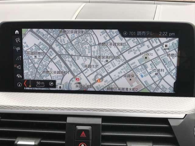地デジTV機能も装備しており、社外のTVキットも装着されておりますので、走行中のTV視聴も可能です。
