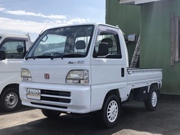 ホンダ アクティトラック 660 SDX 三方開 4WD 5速マニュアル エアコン 社外アルミ