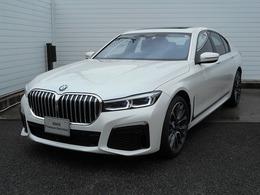 BMW 7シリーズ 740d xドライブ Mスポーツ ディーゼルターボ 4WD 20AW黒革SR地デジACCETCデモ禁煙認定車