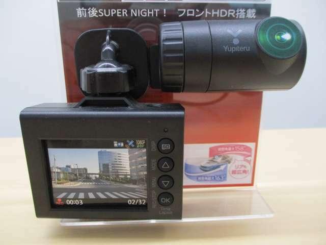 Bプラン画像:◆Yupitel製の前後カメラのドライブレコーダーです◆