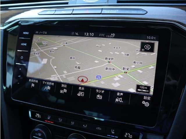9.2インチ大型全面タッチスクリーンの純正ナビゲーションシステム「ディスカバープロ」。従来のナビゲーションの域を超える車両を総合的に管理するインフォテイメントシステムです。
