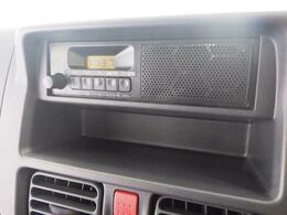 操作ラクラクな AM/FMラジオを装備しています。