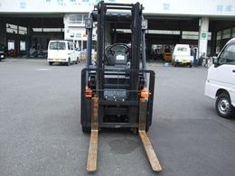 トヨタ フォークリフト 3mマスト ガソリン車 シングルタイヤ