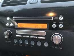 シンプルでわかりやすい純正オーディオ装備でFM・AMはもちろんのことCDもお聞きいただけます♪あると無いのでは大違いの嬉しい装備ですね♪