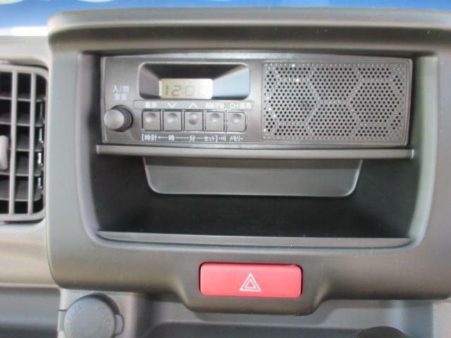 ラジオ付きです。