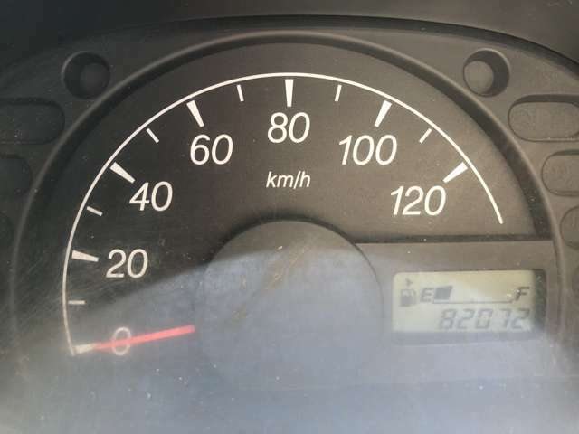 走行82072キロ