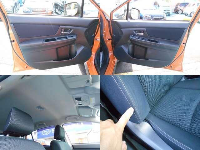 内装カラーはブラックです!!禁煙車なので嫌な臭いもありません!!内装で気になる箇所は運転席淵のシワです!!ご遠方にお住まい等で現車確認出来ない方は要要チェックです!!!