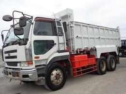 UDトラックス ビッグサム 10t深ダンプ 土砂禁ダンプ 大型 V8 荷台内寸528×220×120 古トラックダンプ