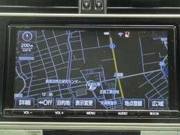 Tコネクトナビゲーション&テレビ(フルセグ)付♪通信機能を利用してお客様のドライブを様々な面でサポートできます♪