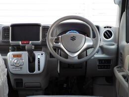 足元が広々使えて操作性の良いインパネオートマ!ベージュ調の落ち着いた車内です!