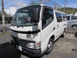 トヨタ トヨエースルートバン ベースグレード 観音扉 積載量2t 5速マニュアル