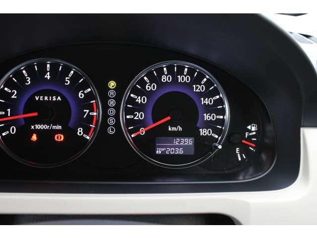 12396キロ!当店のお車は全車走行メーター管理システムによる走行距離チェック通過済みです!メーター改ざん車は販売致しませんのでご安心下さい!