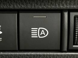 【オートマチックハイビーム】この機能は対向車が居ない暗い道で自分でハイビームにしなくても自動的にハイビームになる便利な機能になります♪