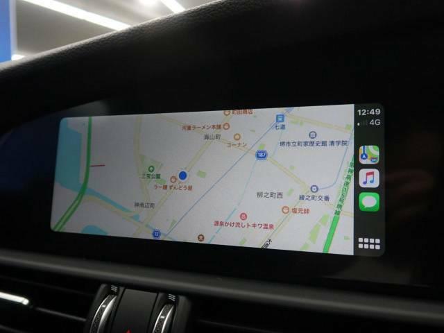 ●最近では主流になりつつあるアップカープレイ対応ナビとなっております♪いつでも最新のナビ情報を出力可能ですよ!