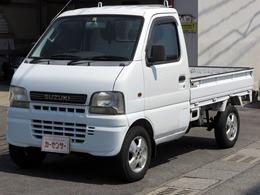 スズキ キャリイ 660 KUスペシャル 3方開 5速 AC/PS 車検R4年8月 タイミングチェーン