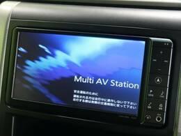 【純正オプション装備】純正ナビ bluetooth・フルセグTV・DVDの視聴も可能です☆高性能&多機能ナビでドライブも快適ですよ☆