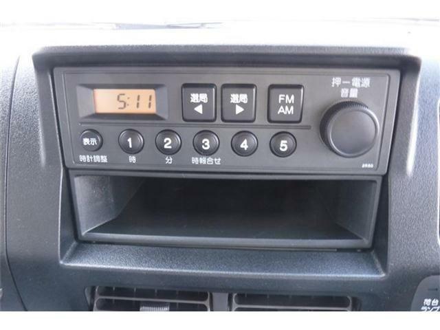 ラジオ装備。