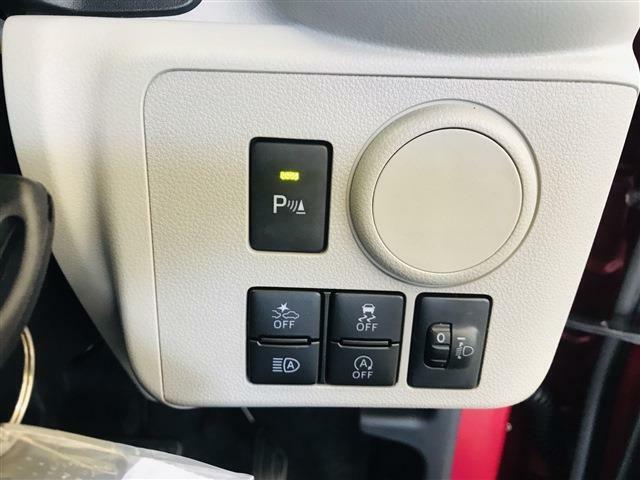 ペダルシフトの操作ミスによる衝突回避に貢献する『誤発進抑制機能』と、車両の横滑り時にン低走行に貢献する『車輌走行安定補助システム』と安全装備も充実しています。