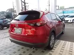 隣車線上の後方から接近する車両を検知すると検知した側のドアミラーの鏡面に備えたインジケーターの点灯で通知してくれるブラインドスポットモニタリング(BSM)付です。