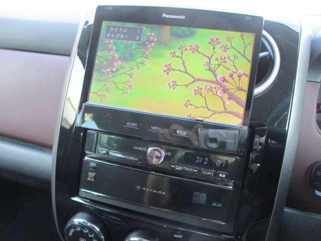 Bプラン画像:DVDの視聴も可能です♪ロングドライブの時でも快適にドライブをお楽しみ頂けます♪お車ですが居住性もございます♪