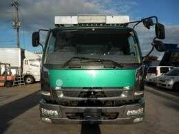 H18 三菱 ファイター 増トン アルミブロック 積載12100kg 走行748000km ボディ内寸長さ6600 幅2360 高さ580