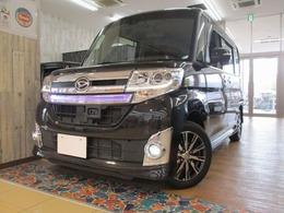 ダイハツ タント 660 カスタム X トップエディション SAII Bコーティング・顧客様下取車・ナビ・TV