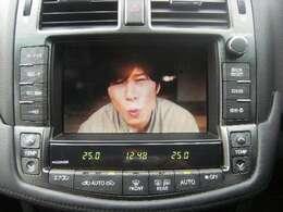 純正HDDナビ(DVD映像再生可能 フルセグTV CD MD