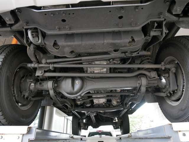 Bプラン画像:下回り防錆施工!車の下回りサビから防ぎます!