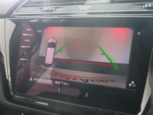 障害物センサーとリアビューカメラを搭載しております。駐車が苦手な方も安心して操作が可能です。