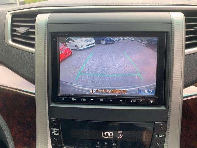 バックモニター付で駐車も簡単!
