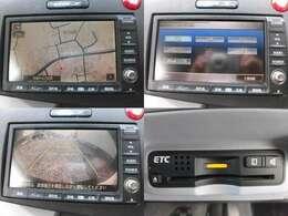 HDDナビ ミュージックサーバー DVD再生 バックカメラ ETC装備