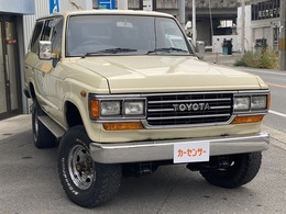トヨタ ランドクルーザー60 4.0 GX ディーゼル 4WD ロールーフ 観音ドア 角目