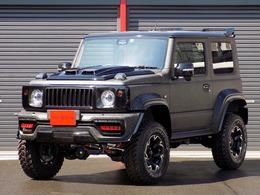 スズキ ジムニーシエラ 1.5 JC 4WD WALDデモカー ForgedCarbonラッピング