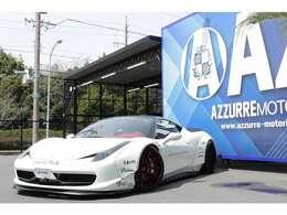 2010y フェラーリ458 フルカスタム車両 正規ディーラー車 入庫しました!